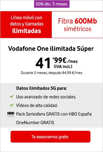 151d4559496 ▷Vodafone One → Fibra Óptica, fijo, móvil y TV al mejor precio